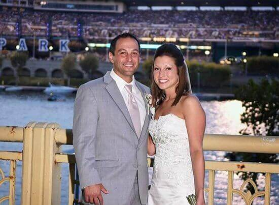Nick Cinalli and his beautiful wife of one year!