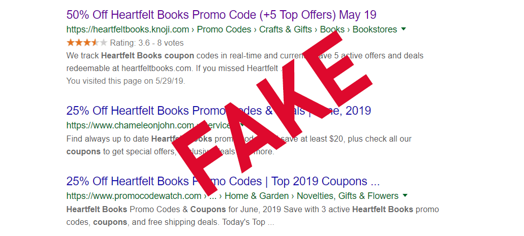 Heartfelt Books Promo/Coupon Codes | HeartfeltBooks com
